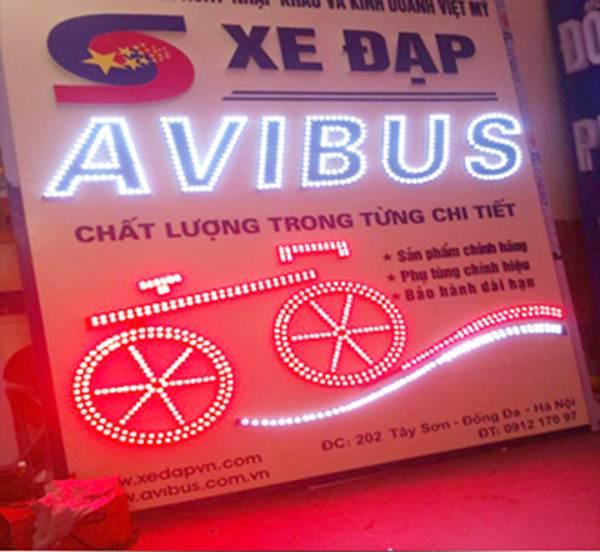 Làm bảng đèn LED, bảng hiệu LED tại HCM