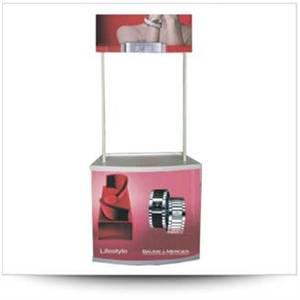 Booth Sampling chất liệu nhựa cao cấp